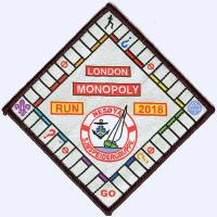 London Monopoly Run 2018 badge
