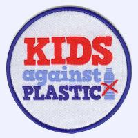 1st Thatcham Guides - Kids against Plastic badge