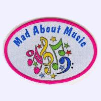 Mad about Music badge