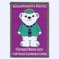 Nottingham Badges | Kincardineshire District Cub Scout Camp badge