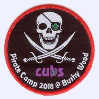 Cubs Pirate Camp 2018 badge
