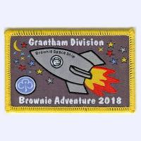Grantham Division Brownies 2018 badge