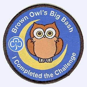 Sleaford Guides Brown Owl Bash badge