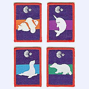 Nottingham Badges | 2nd Exeter Scouts WSJ2019 Patrol Patches badge