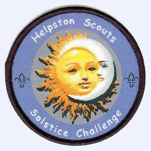 Nottingham Badges | Helpston Scouts Solstice Challenge badge