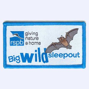 Nottingham Badges | RSPB Big Wild Sleepout badge