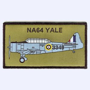 Nottingham Badges | NA64 Yale 3349 Warbird Flights badge