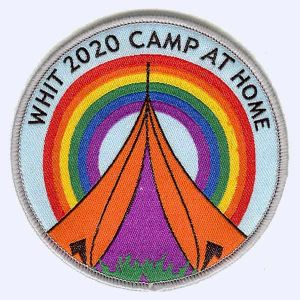 Nottingham Badges | Whitsun camp at home 2020 badge