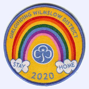 Nottingham Badges | Girlguiding Wilmslow District Stay Home 2020 badge
