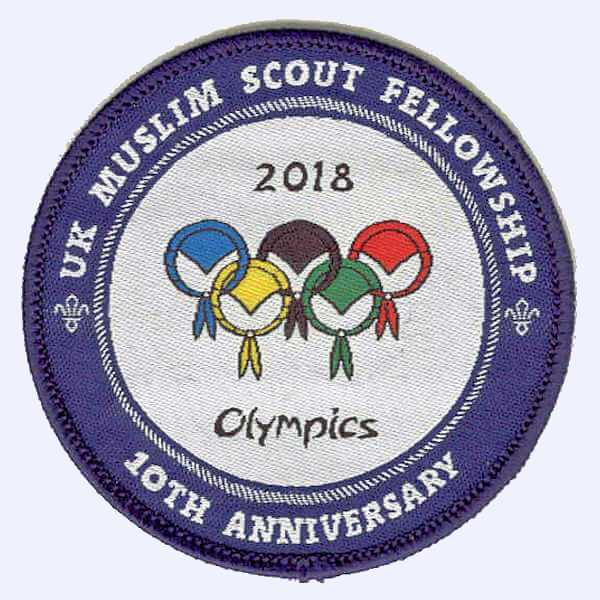 UK Muslim Fellowship 10th Anniversary badge