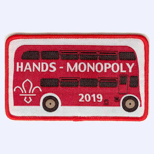 Harrogate & Nidderdale Scouts Monopoly Challenge 2 badge