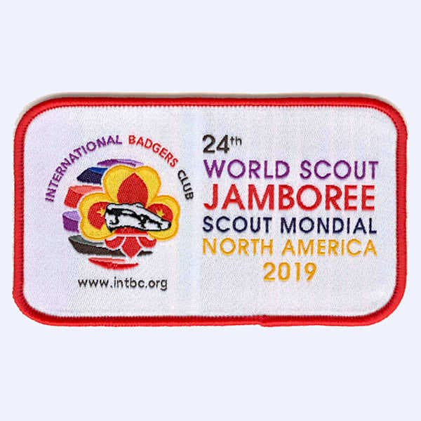 Badgers Club - 24th World Scout Jamboree badge
