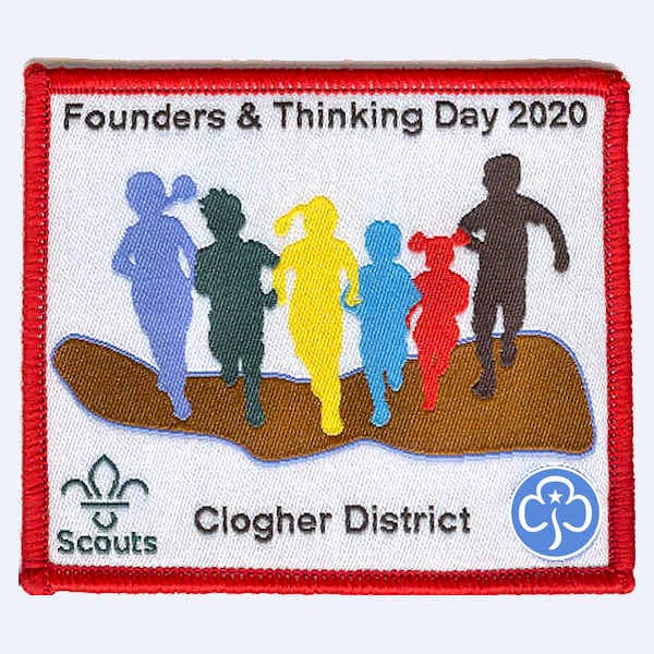 Clogher District Northern Ireland badge